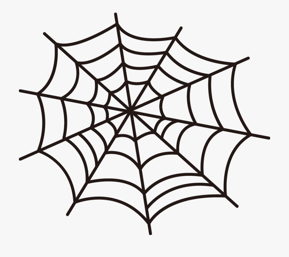 Free Online Spider Webs Halloween Web Vector For Design.