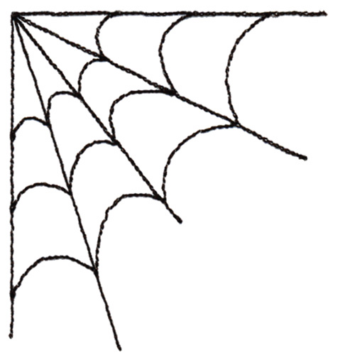 Spider webs clipart.