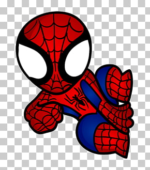 138 spiderman Chibi PNG cliparts for free download.