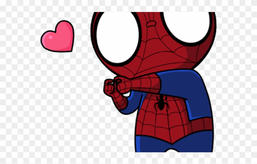 Spider Man Clipart Chibi.