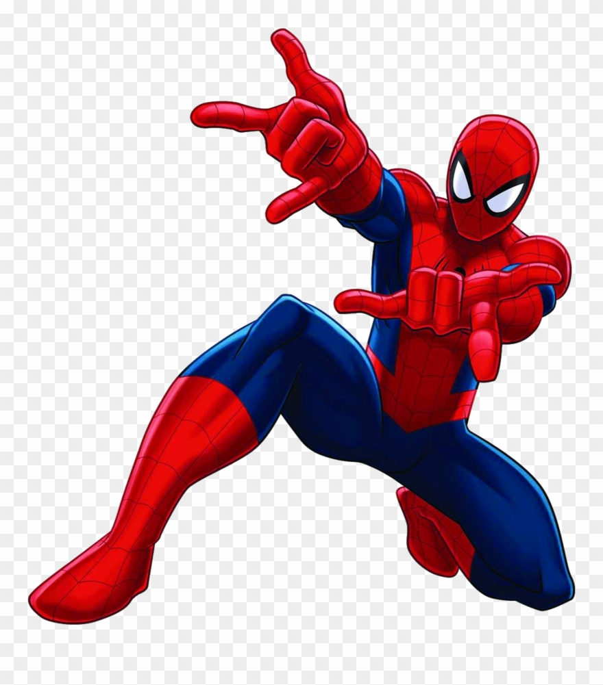 Spider Man Clipart Small.