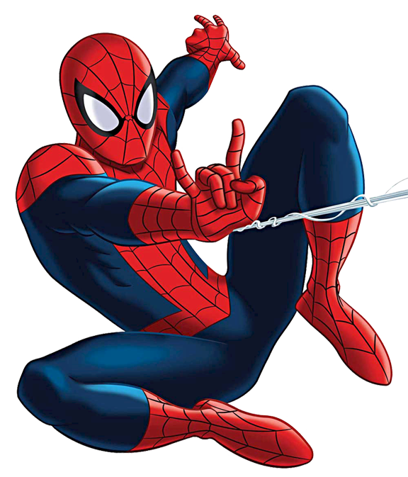 Spiderman Clipart Free.