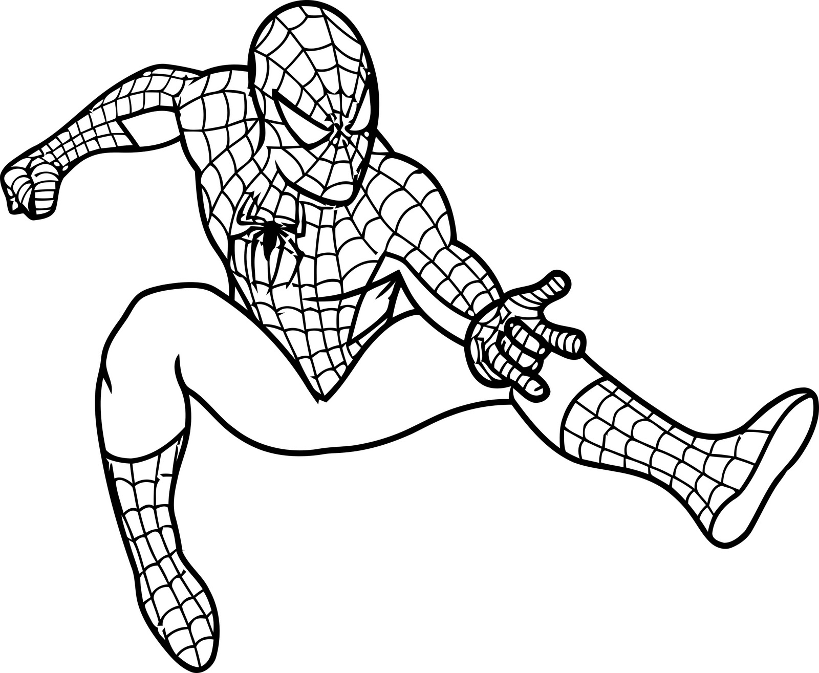 Spiderman spider man christmas clipart kid.