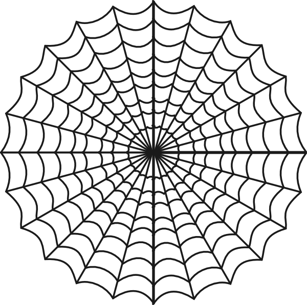 Spiderman Clipart Black And White.