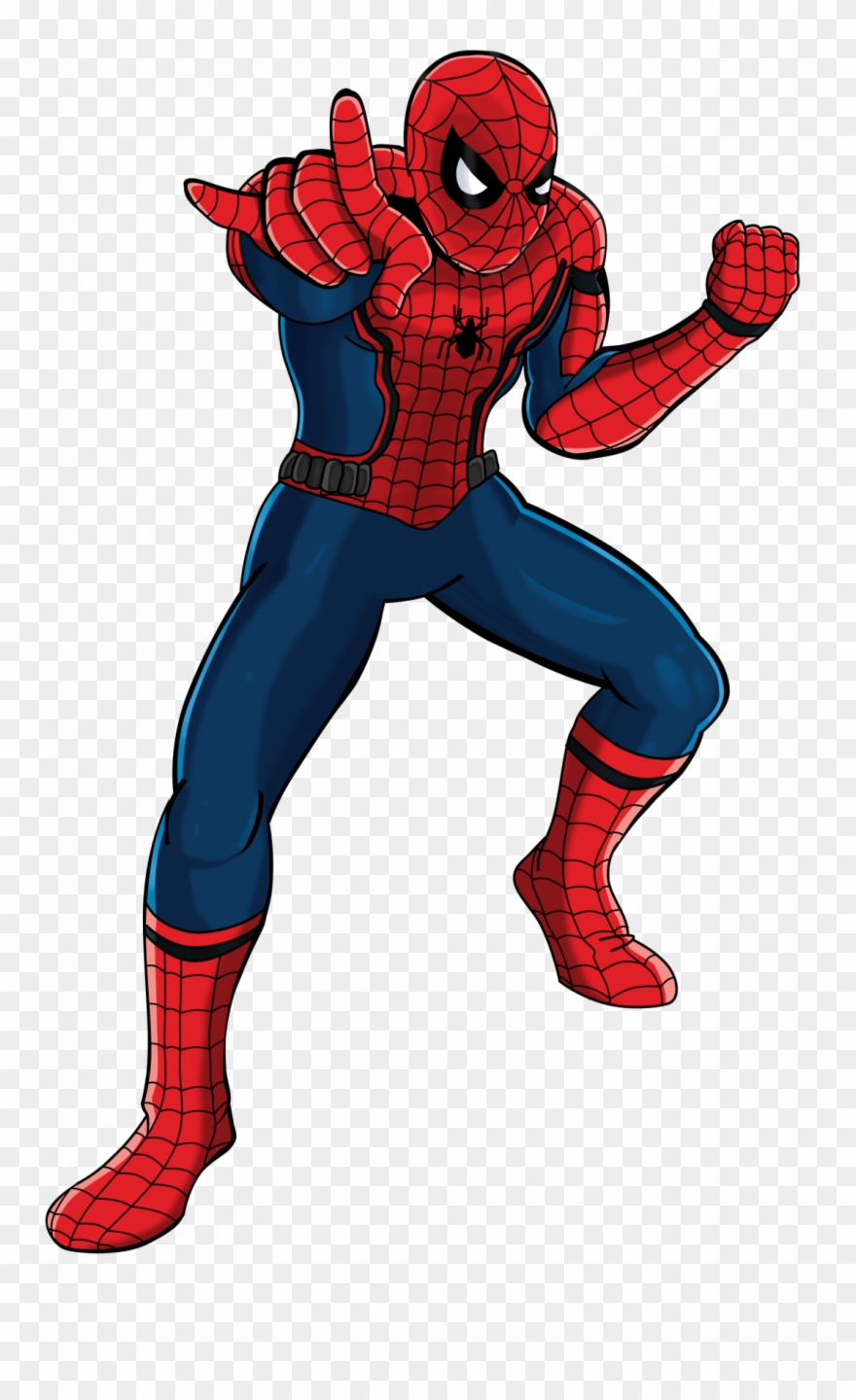 How To Draw A Spiderman Step By Easy Realistic.