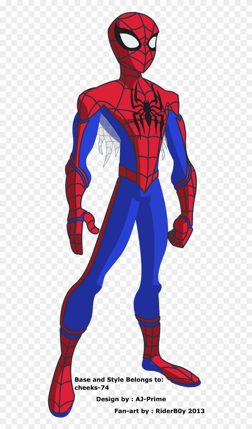 Easy Spiderman Drawing.