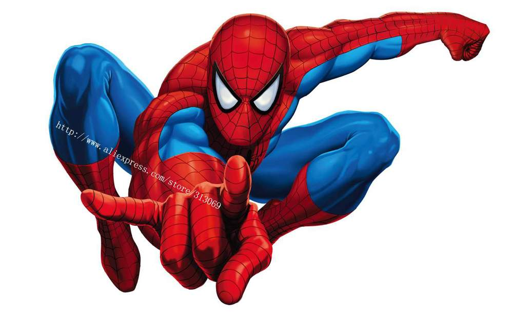 Spiderman Cartoon Clipart.
