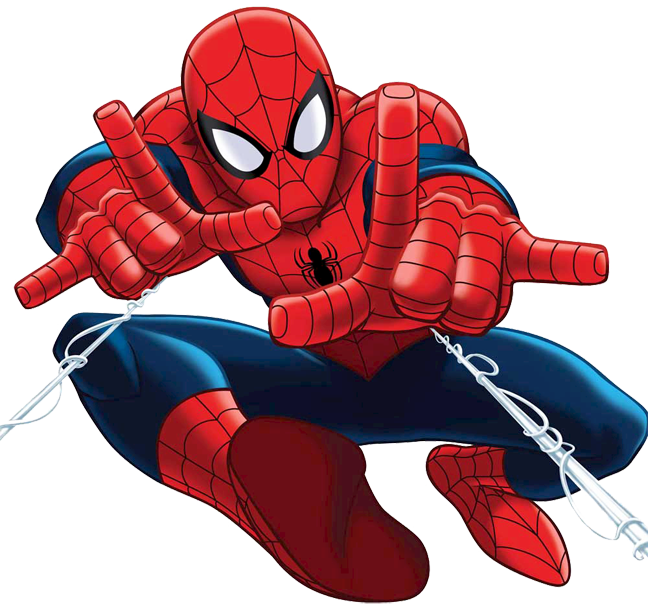 Free Spiderman Png Clipart Image.