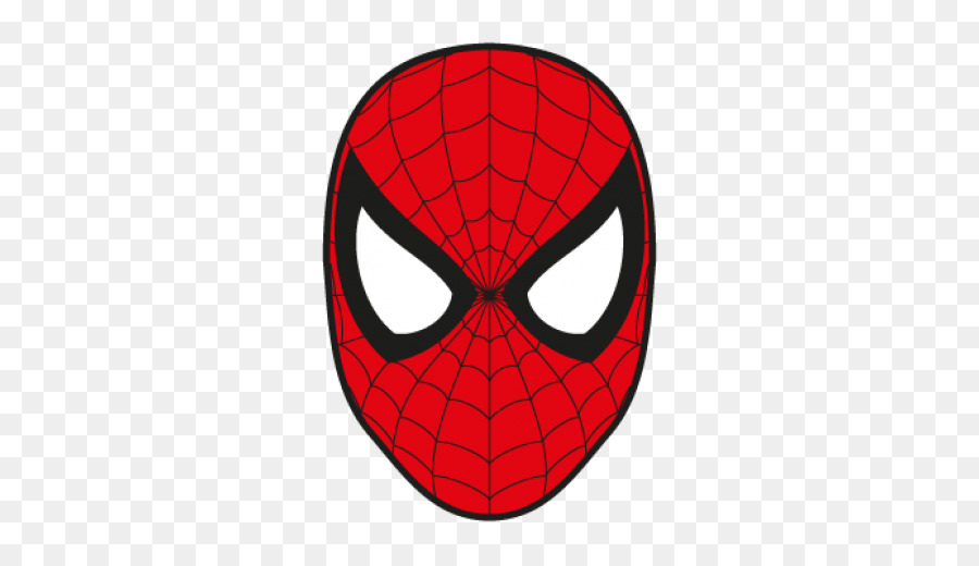 Spiderman face clipart 3 » Clipart Station.