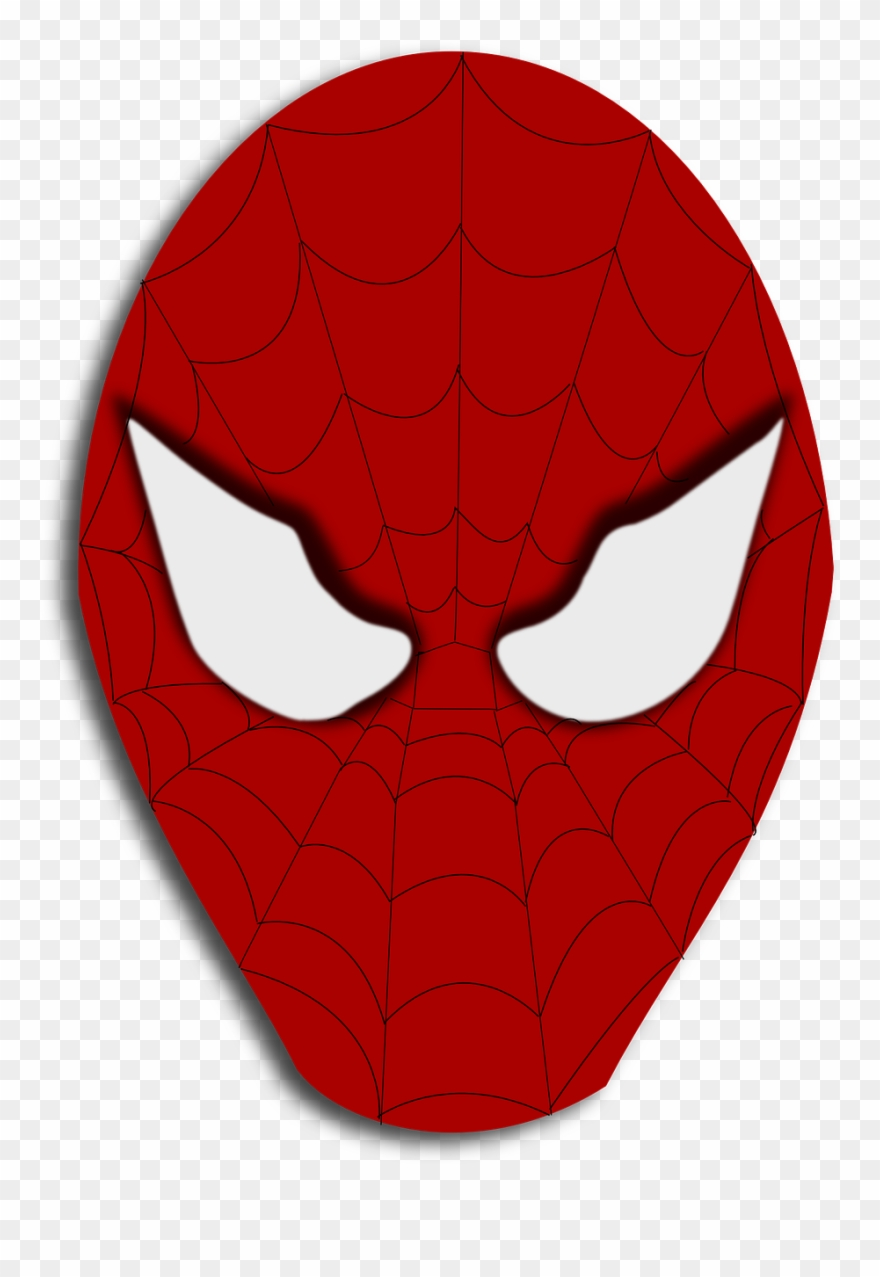 Spider Man Face Png Clipart (#712757).