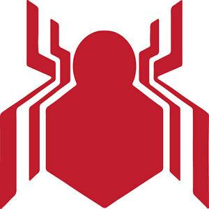 Details about Diecut Vinyl SPIDERMAN HOMECOMING logo Decal Sticker Laptop  Comic Spiderman.