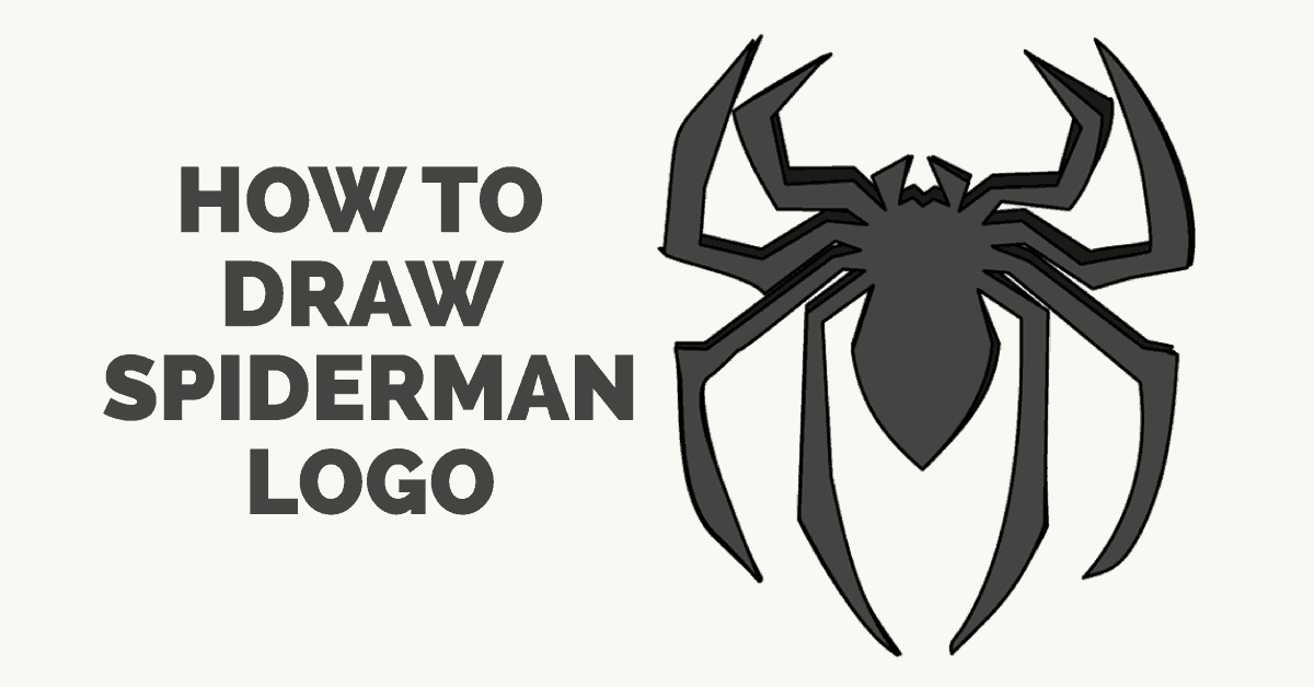 How to Draw Spiderman\'s Logo.