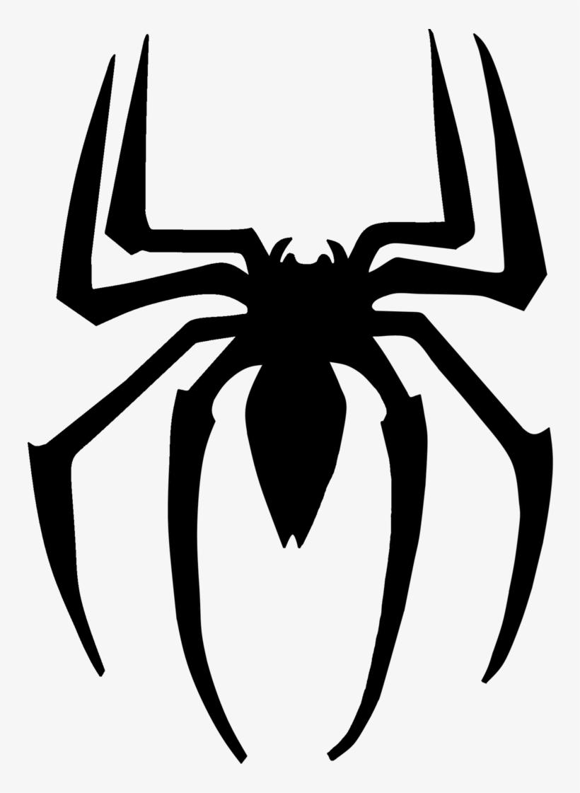 Drawing Spiderman Symbol.
