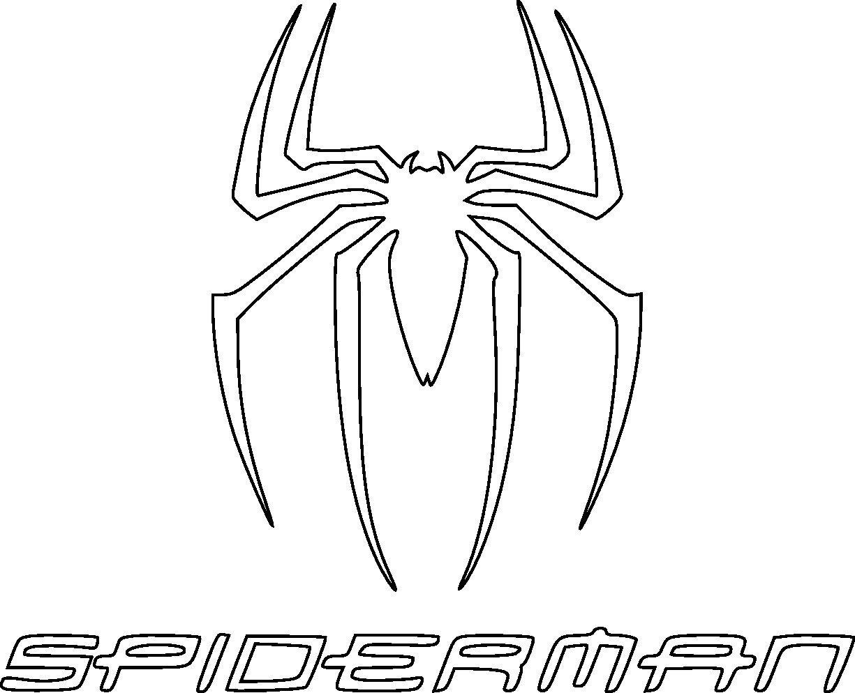 Spiderman Logo Drawing at GetDrawings.com.