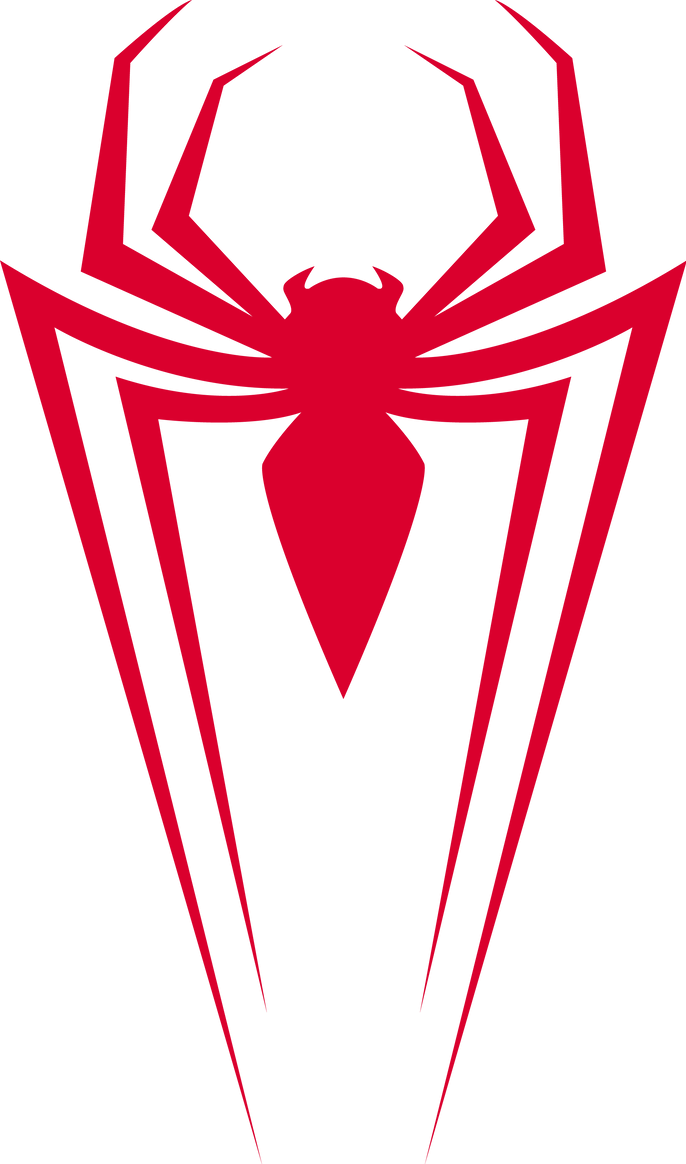 Spiderman Modern Symbol Logo Png.