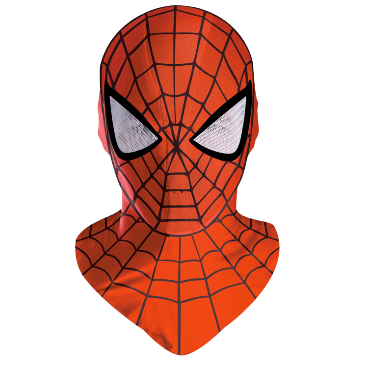 Spiderman Mask transparent PNG.