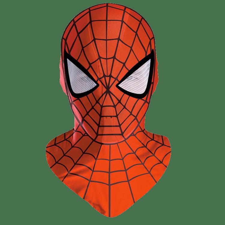 Spiderman Mask transparent PNG.