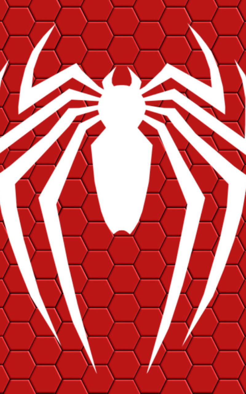 800x1280 Spiderman Ps4 Logo Nexus 7,Samsung Galaxy Tab 10.