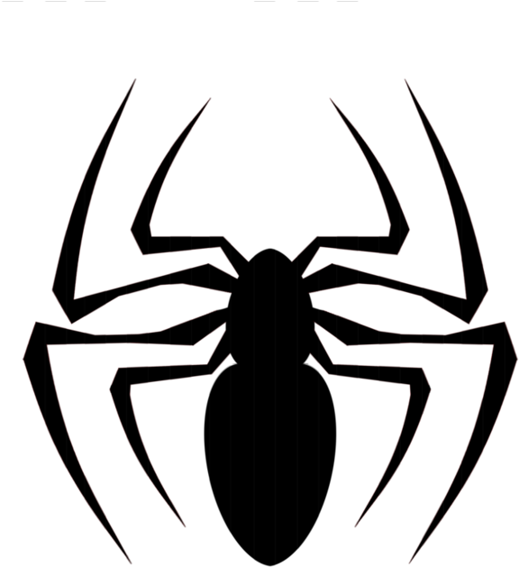 HD Spider Clipart Side View.