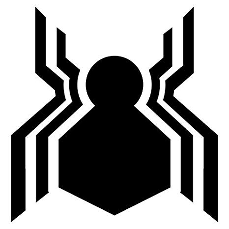 LCK Unique Design Marvel Spider Man Homecoming Logo, Orange, 6 Inch, Die  Cut Vinyl Decal, for Windows, Cars, Trucks, Toolbox, Laptops,.