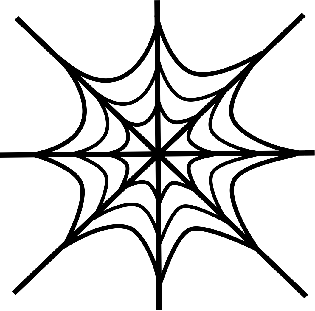 Spiderman web clipart 5 » Clipart Portal.