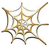 Clipart of spider net k22480200.