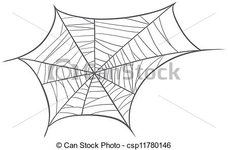 EPS Vector of a spider net.