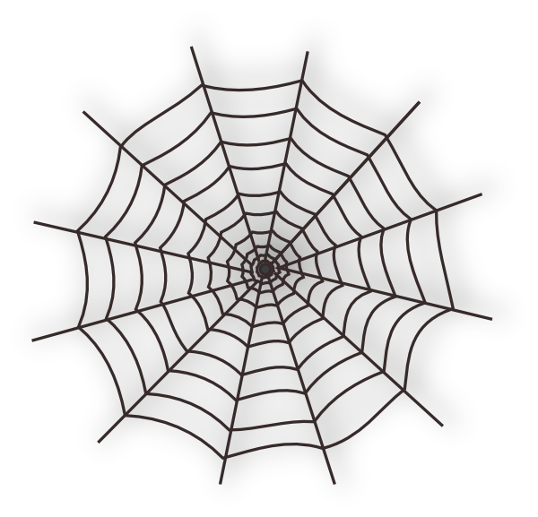 Spider Web Clip Art at Clker.com.