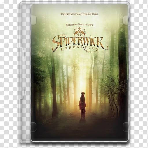 Movie Icon Mega , The Spiderwick Chronicles transparent.