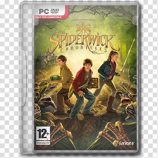 Game Icons , The Spiderwick Chronicles transparent.