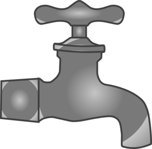 Faucet Clip Art at Clker.com.