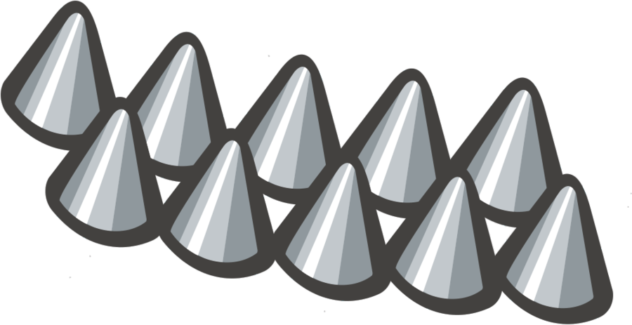 Spikes clipart.