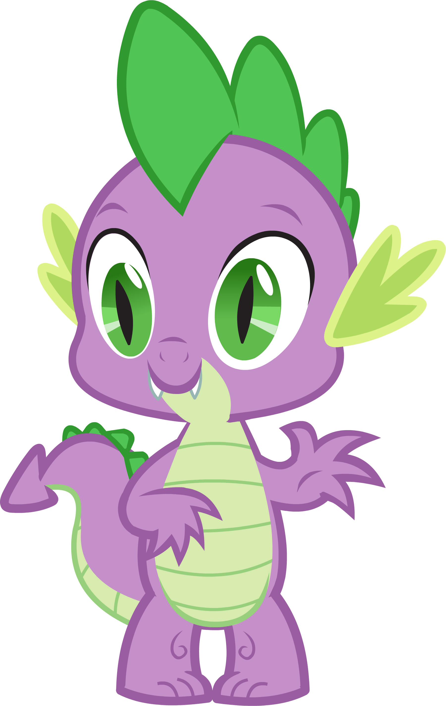 Spike The Baby Dragon.