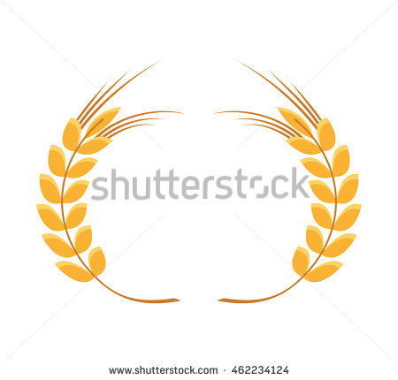 Spike Leaf Frame Icon Vector Isolated Stock Vector 462234124.
