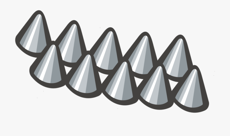 Spikes.