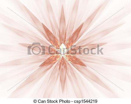 Stock Illustration of Fractal Abstract Background.