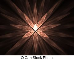 Fractal abstract background spike petals Illustrations and Stock.