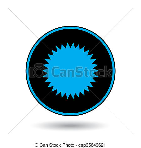 Clip Art of Icon Illustration Isolated on a Background.