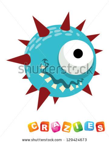 Spiky Balls Stock Photos, Royalty.