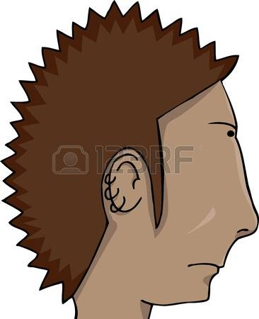 187 Spiky Hair Stock Illustrations, Cliparts And Royalty Free.