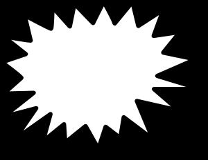 Star Callout Clip Art at Clker.com.