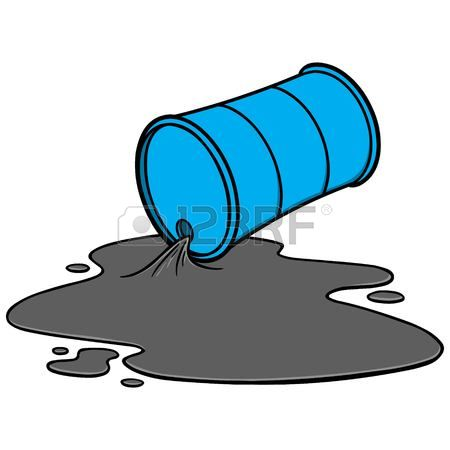 Free oil spill clipart.