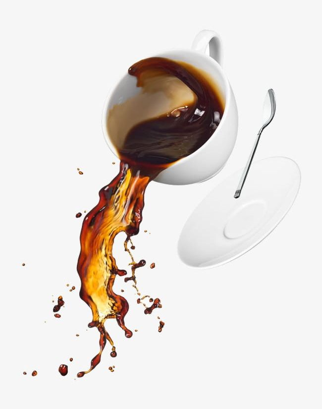 Spilled Coffee PNG, Clipart, Coffee, Coffee Clipart, Drops.