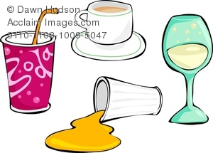 spilled drink clipart & stock photography.