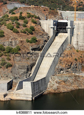 Stock Photography of Chute Spillway k4088811.