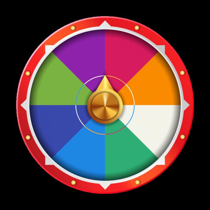 Spinning Wheel PNG.