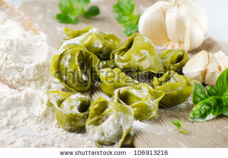 Green Spinach Tortellini.