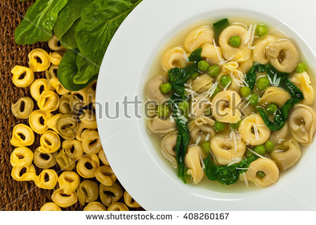 Tortellini Stock Photos, Royalty.