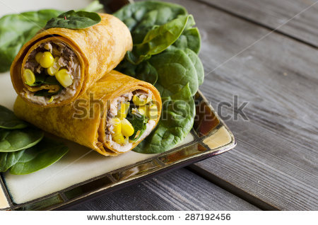 Sandwich Wrap Stock Photos, Royalty.