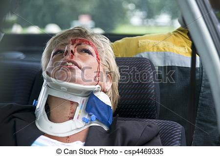 Stock Images of neck brace.